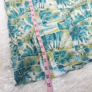 Tommy Bahama Tops - Tommy Bahama Relax Tank Knot Back Tropical Palms